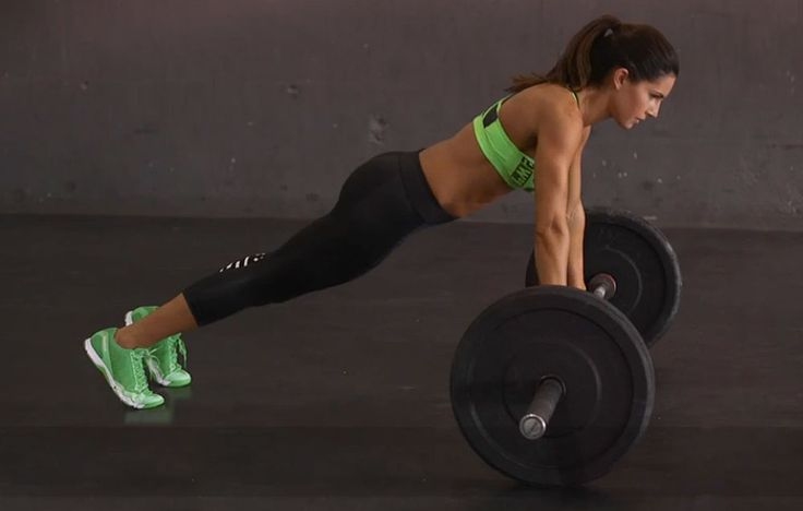 This 5-move routine will give you an incredible total-body burn with an added…