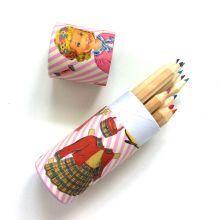 Μολυβοθήκη+με+12+ξυλομπογιές+'Dress+up+doll'