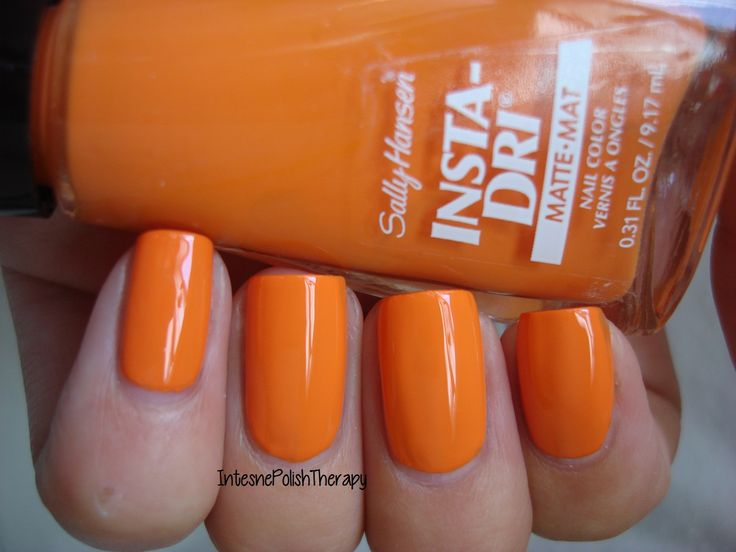 Sally Hansen - Pumpkin Queen | Nails inspiration ...