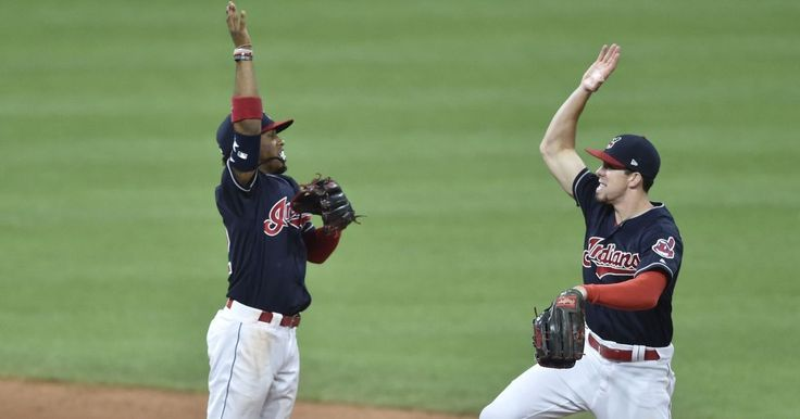 CLEVELAND (AP) — Josh Tomlin pitched six efficient innings, Carlos Santana homered twice and the Cleveland Indians won their fourth straight, 6-2 over the tumbling Cincinnati Reds on Monday night in the makeup of a May 25 rainout.  Tomlin (7-9) gave up two homers but stayed in the strike zone...