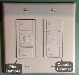 Lutron P-BDG-PKG2W Caseta Wireless Smart Lighting In-Wall Dimmer Kit, HomeKit-enabled - - Amazon.com
