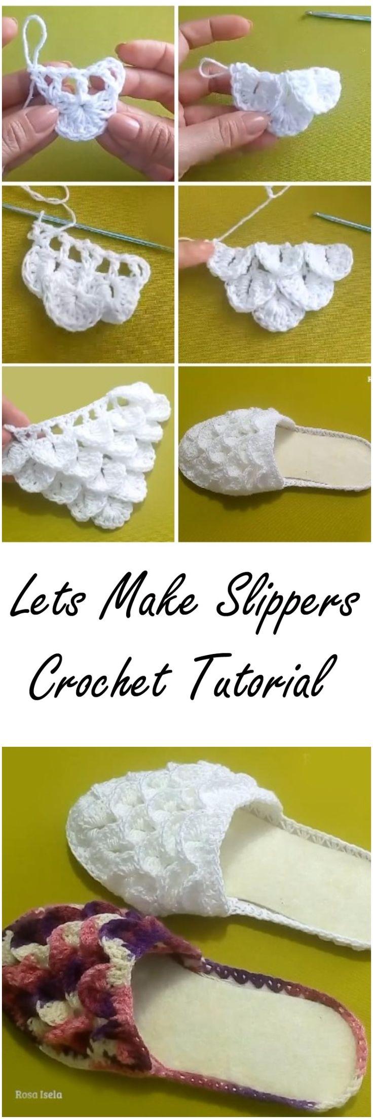 Crochet Beautiful Crocodile Slippers