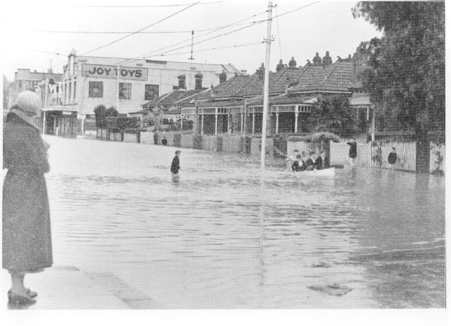 PH 7394. Toorak Road in in the vicinity of Clara Street, 1934.