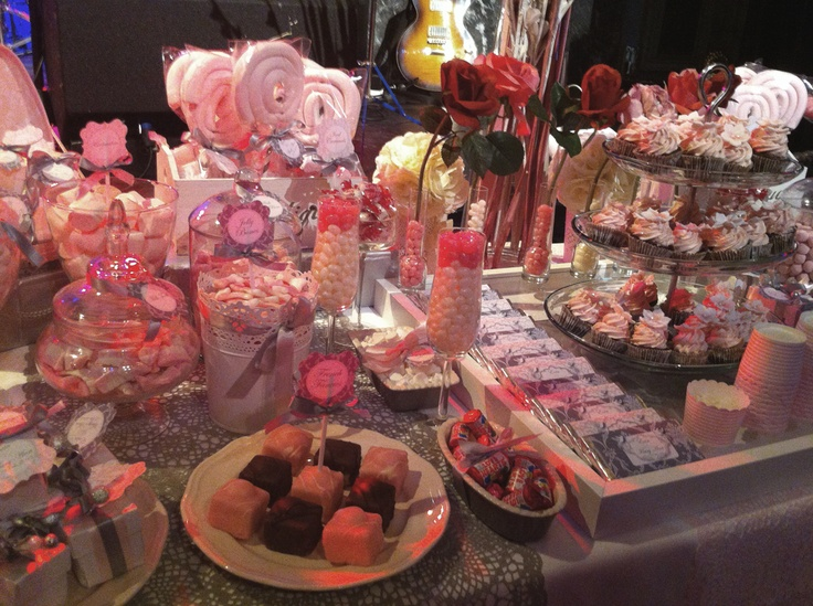 Pink & Grey Candy Buffet at The Set Theatre, Langtons, Kilkenny, Ireland