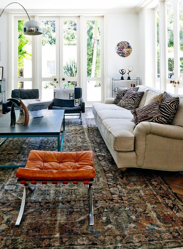 Deep Luxurious Linen Sofa Lots Of Light Peace