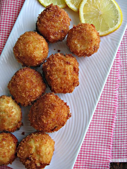 sweetsugarbean: Artichoke Asiago Poppers for Oscar Night