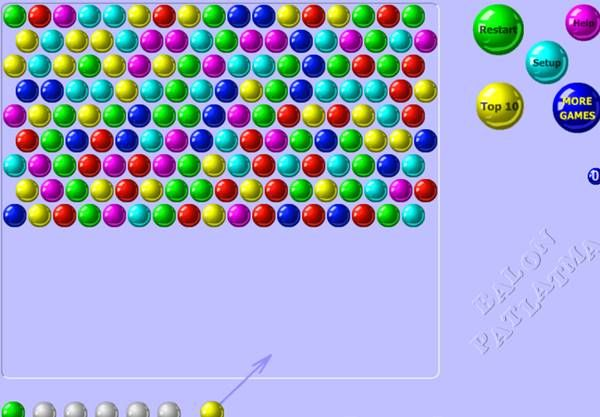 Balon Patlatma Oyunu Oyna Klasik Renkli Balon Oyun Balon Renkler