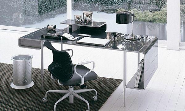 Metal surface desk Ucami designer furniture