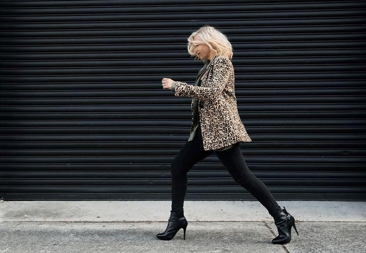 Wear leopard print like Kate Moss.