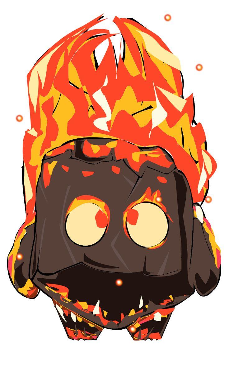 Espíritu fuego/ fire spirit  @BocetosClashRoyale #Alvaro Jimenez