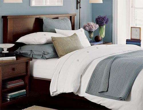 25 beste idee n over donker hout slaapkamer op pinterest donkere houten meubels slaapkamer - Grijze hoofdslaapkamer ...