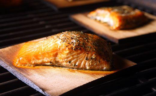 Epicure's Chai Tea Cedar Plank Salmon