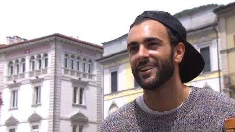 """Marco Mengoni a Locarno per Squot """"Amo la Svizzera, soprattutto il Ticino"""""""