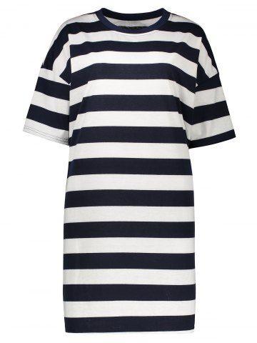 GET $50 NOW   Join RoseGal: Get YOUR $50 NOW!http://www.rosegal.com/plus-size-dresses/stripe-plus-size-t-shirt-dress-1101070.html?seid=6361886rg1101070