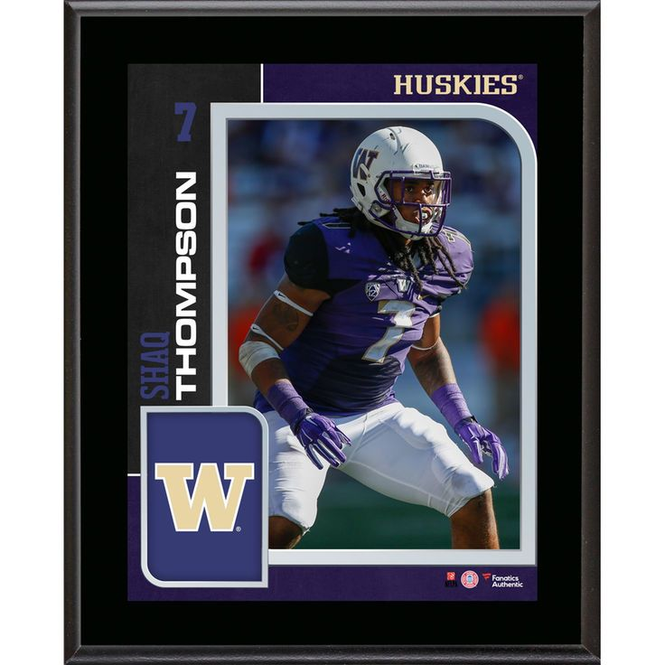 Shaq Thompson Washington Huskies Fanatics Authentic 10.5'' x 13'' Sublimated Player Plaque - $29.99