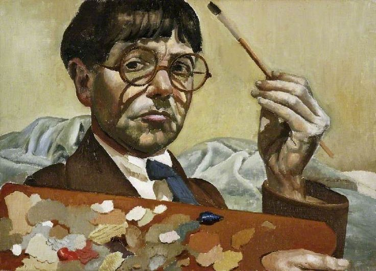 Self Portrait 1939 by Stanley Spencer (English 1891-1959)