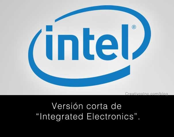 Significado logo Intel