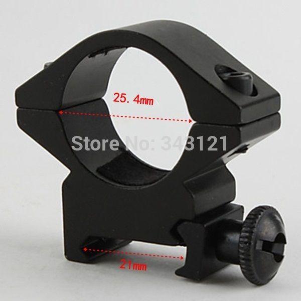 1 пара 25DK Shotgun Airsoft 25 мм Сфера Фонарик Для Установки Кольца Охота Пушки Винтовки Сфера Горе 20 мм Железнодорожных Ласточкин Хвост чтобы Picatinny