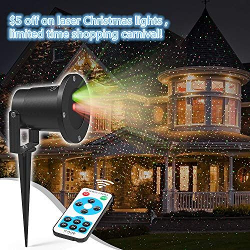 Innoolight Laser Christmas Lights Outdoor Laser Light Show Red And Green Ip65 Waterproof Outdoor Decoration Light Projector With Remote For Christmas Holiday With Images Laser Christmas Lights Laser Christmas Lights