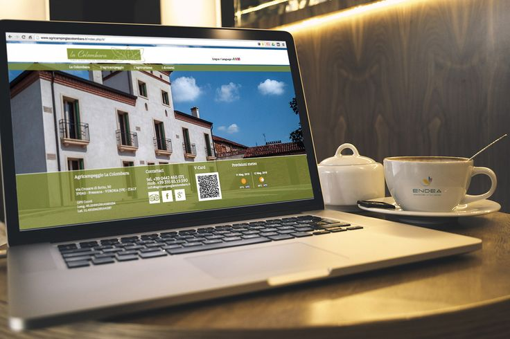 La colombara on Behance by Endea #sitointernet #sitoweb #website #inspiration