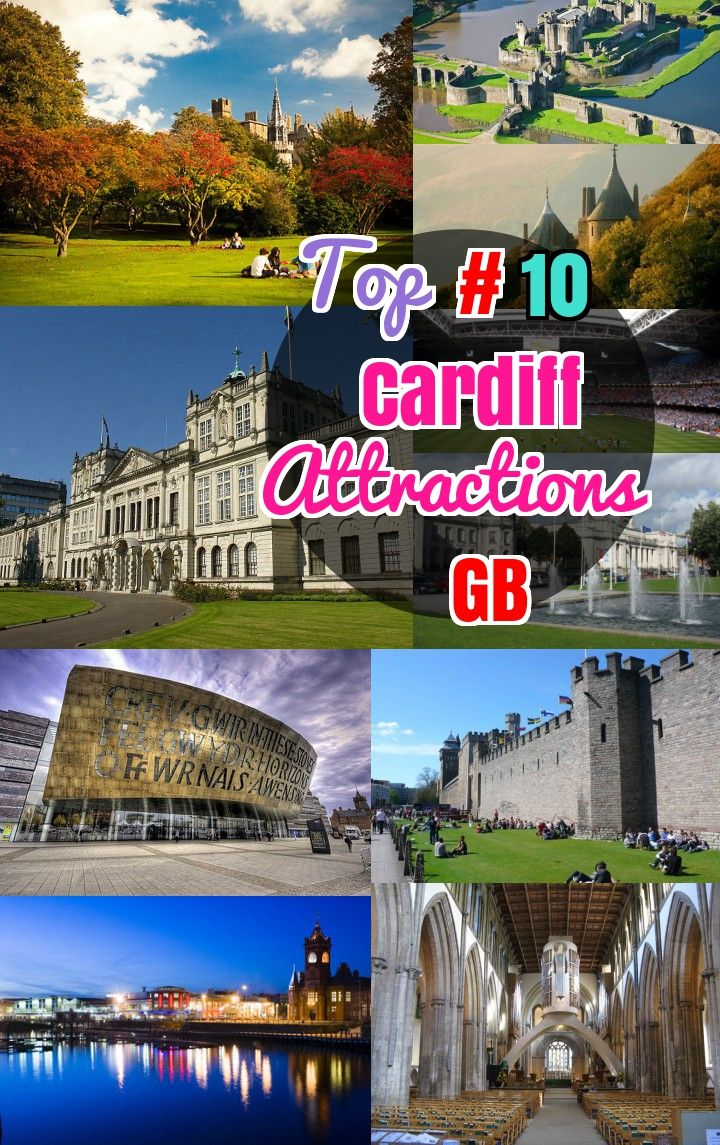 #10 Best Things to do in Cardiff United Kingdom. Best restaurants and attractions in Cardiff Great Britain.