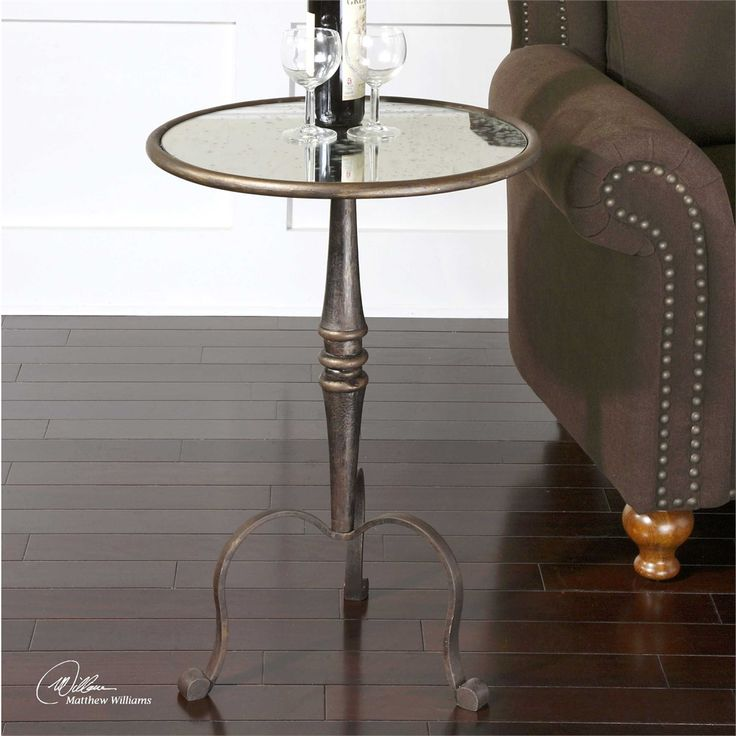 Uttermost Anais Mirrored Accent Table