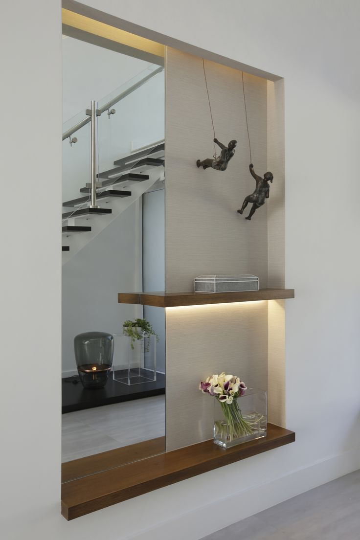 Modern Eclectic Home - Residential Interior Design Project in Miami, Florida by DKOR Interiors #Interiors #Miami #Foyer #InteriorDesign #Entrance #Entryway #HomeInteriors