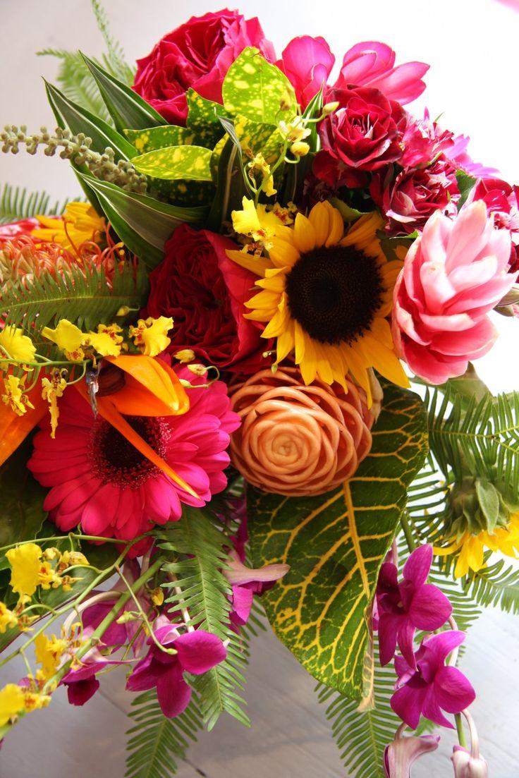 Japanese Flower Wedding Arranging | Summer Flower: Summer Flower Centerpieces