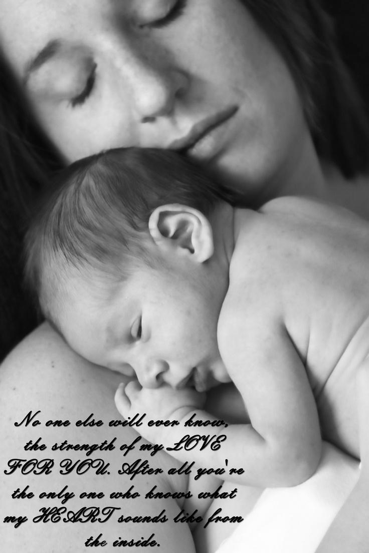 love mom's and newborns