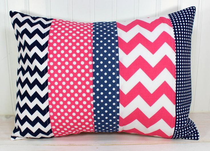 Navy And Pink Decorative Pillows: 76 Best Navy Blue Pink Obsession Images On Pinterest