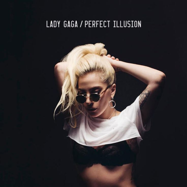 Lady Gaga - Perfect Illusion made by IanHydeDesign | Coverlandia