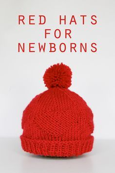 Raise awareness about the American Heart Association's mission and of the fact that heart defects are the most common congenital defect among newborns. Check out the AHA's website for more information on this project. Red Hats for Newborns Pattern at handsoccupied.com
