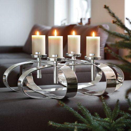 19 besten adventskr nze bilder auf pinterest corona kerzen und kerzenleuchter. Black Bedroom Furniture Sets. Home Design Ideas