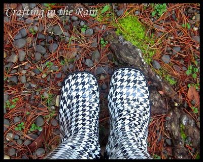 Duck tape boots! Great way to recycle old boots!!!