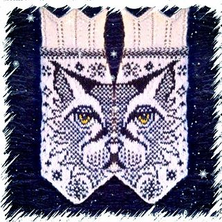 My phone is giving me a hard time so the pic for the palm side of the mitten is a pic from the pattern.