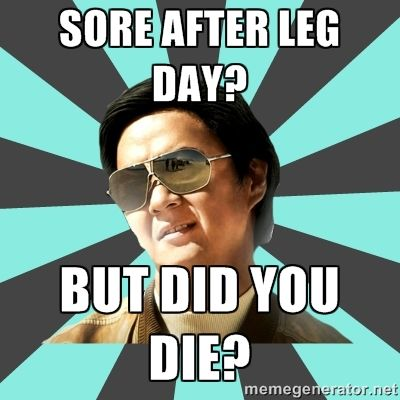 leg day meme - Google Search