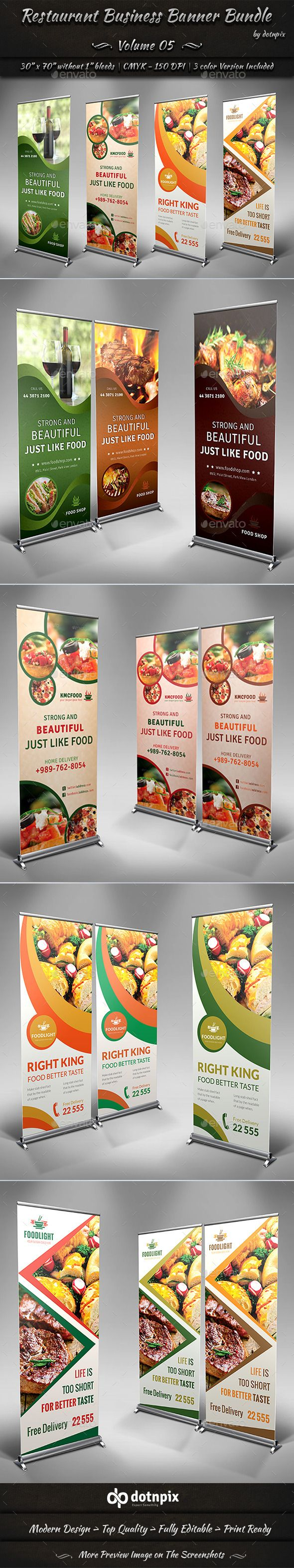 Restaurant Business Banner Bundle | Volume 5 — Photoshop PSD #pizza #wine • Available here → https://graphicriver.net/item/restaurant-business-banner-bundle-volume-5/9086766?ref=pxcr