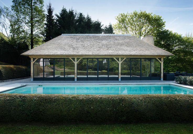 cottage poolhouse