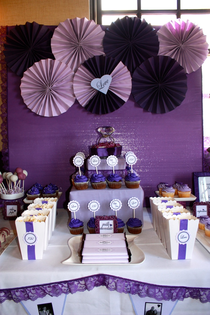 http://livesmilecelebrate.blogspot.com/2011/04/purple-bridal-shower.html