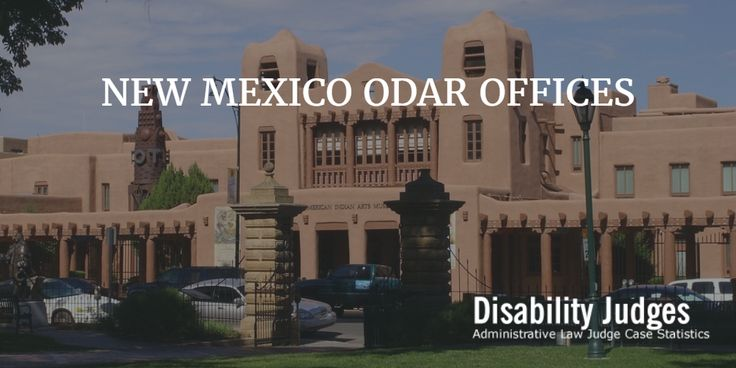 Check out the latest information for ODAR offices located in NEW MEXICO.  Visit: https://disabilityjudges.com/state/new-mexico #ODAR #ODARNewMexico #AdministrativeLawJudge