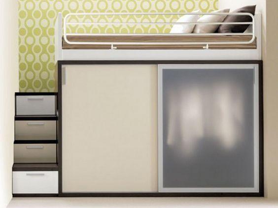 oltre 25 fantastiche idee su camera da letto piccola su pinterest - Idee Armadio Camera Da Letto