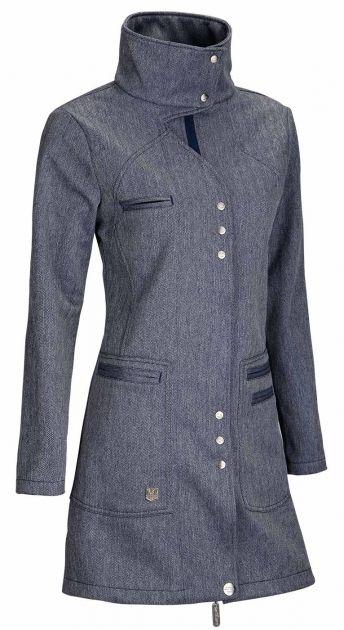 SOFTSHELL Blue Zone Ladies´ Coat Připravte si v almaře místo na váš nejoblíbenější kus oblečení