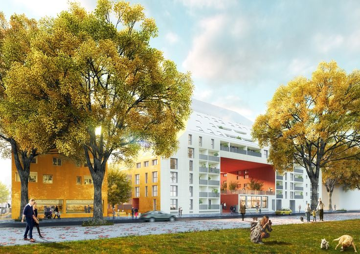 Gallery of MVRDV Breaks Ground on Riverfront Housing Complex in Bordeaux - 4