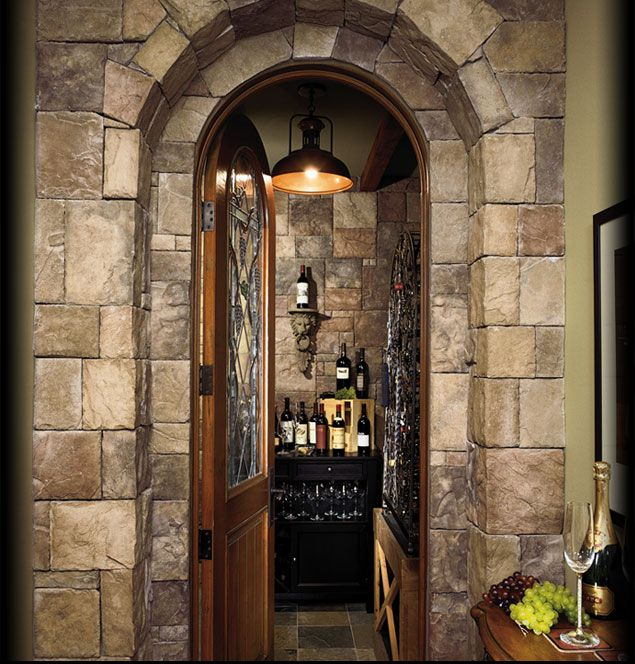 Interior Stone Wall Kitchen: Cultured Stone Chardonnay European Castle Stone Interior Feature W
