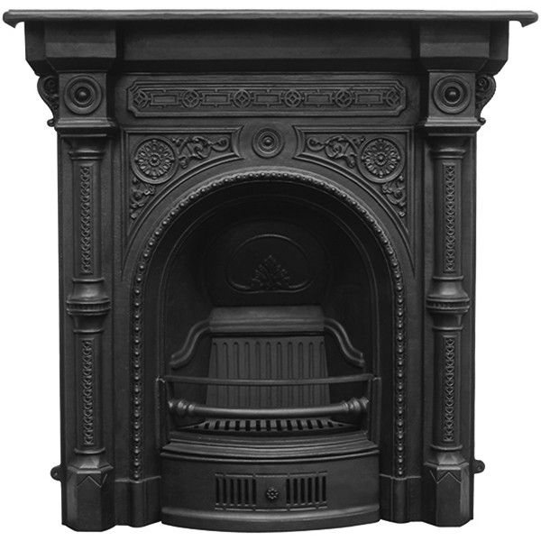 Carron Tweed Combination Cast Iron Fireplace In 2020 Cast Iron