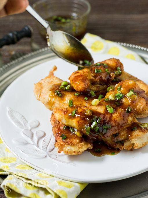 Honey Garlic Chicken, paleo, primal (paleofoodiekitchen.com)