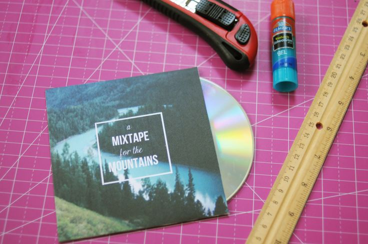 mixedtape diy using photoshop