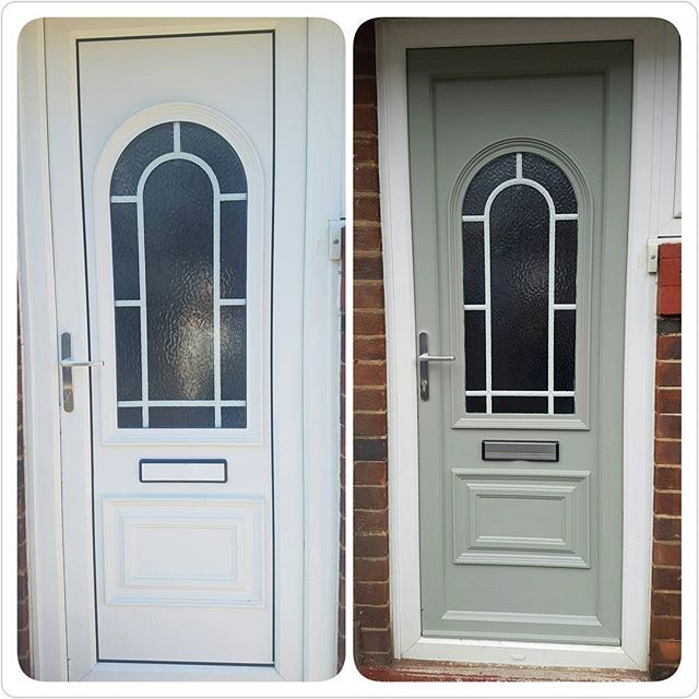 Blog post now live...How to paint your upvc doors with this step by step guide...Happy painting xx