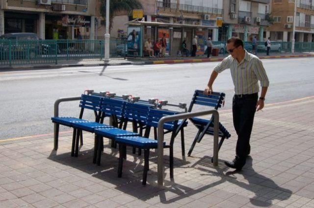 Urbanisme modulaire : voici les tabourets caddie