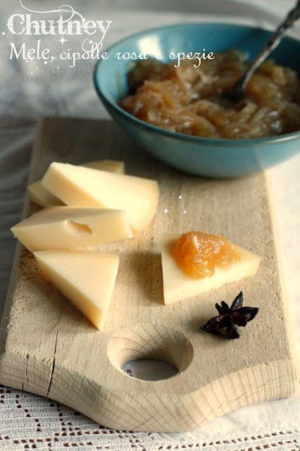 Anna The Nice: Chutney di mele, cipolle rosa e spezie